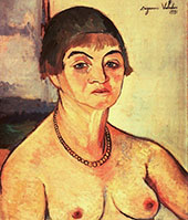Self Portrait 1938 By Suzanne Valadon