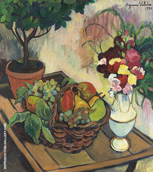 Still Life By Suzanne Valadon