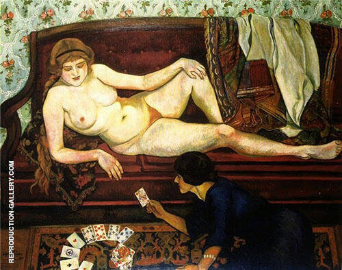 The Fortune Teller 1912 By Suzanne Valadon
