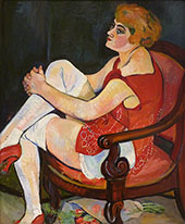 Women in White Stockings 1924 By Suzanne Valadon