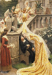 Alain Chartier 1903 By Edmund Leighton