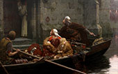 In Time of Peril 1897 By Edmund Leighton