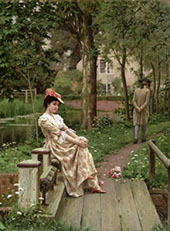 Off -The Refused Marriage 1899 By Edmund Leighton
