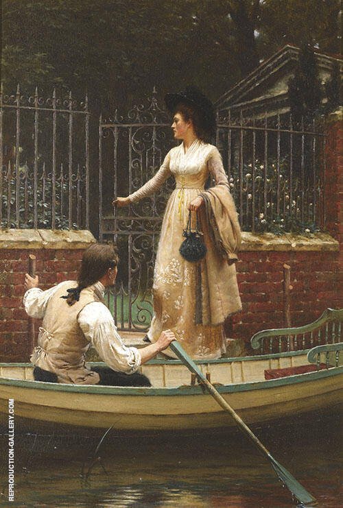 The Elopement 1893 By Edmund Leighton