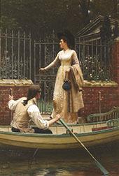 The Elopement 1893 By Edmund Leighton