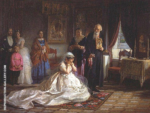 Before The Wedding By Firs Sergeyevich Zhuravlev