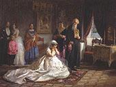 Before The Wedding By Firs Sergeyevich Zhuravlev