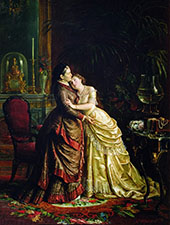 Sergei Gribkov Before The Marriage 1886 By Firs Sergeyevich Zhuravlev
