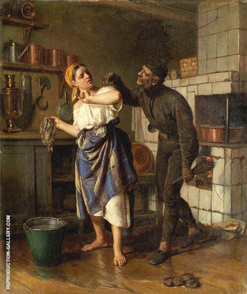 The Chimney Sweep 1875 By Firs Sergeyevich Zhuravlev