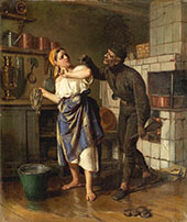 The Chimney Sweep 1875 By Firs Sergeyevich Zhuravlev