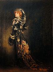 Andree Megard Dans Le Role d Anna Karenine 1907 By Louis Anquetin