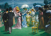 At The Races 1985 By Louis Anquetin