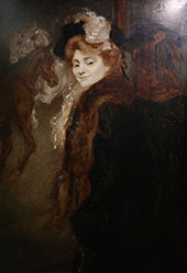 Donna Sulla Strada 1890 By Louis Anquetin