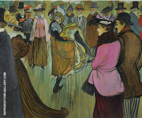 Moulin Rouge 1893 By Louis Anquetin