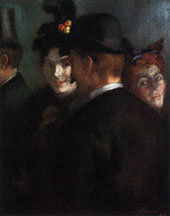 Theatre Foyer 1889 By Louis Anquetin