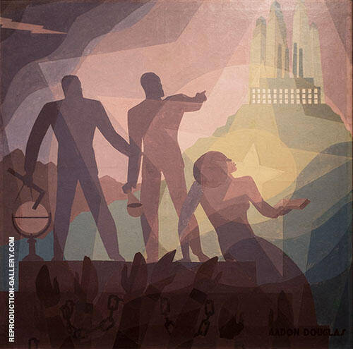Aspiration 1936 By Aaron Douglas