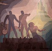 Aspiration 1936 By Aaron Douglas