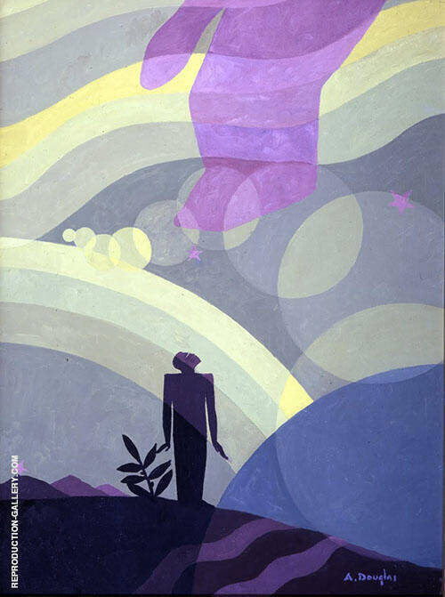 The Creation 1935 Painting By Aaron Douglas - Reproduction Gallery