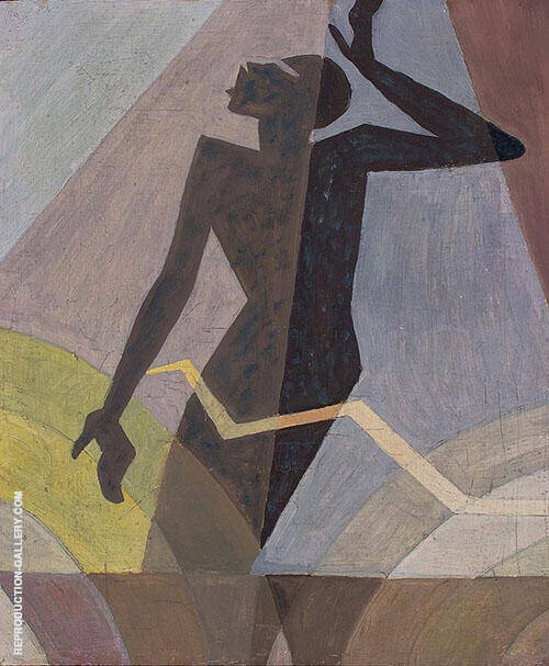 Listen Lord Painting By Aaron Douglas - Reproduction Gallery