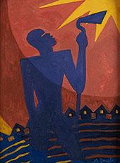 The Toiler 1937 By Aaron Douglas