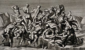 Battle of Cascina 1504 By Michelangelo