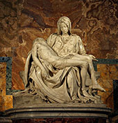 St Peters Basilica 1498 By Michelangelo