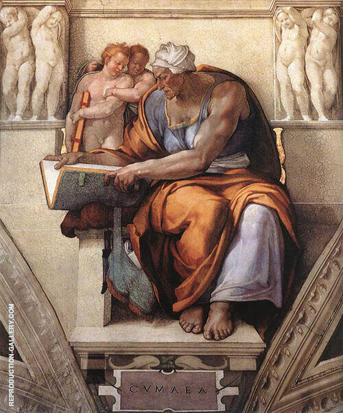 The Cumaean Sibyl By Michelangelo