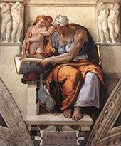 The Cumaean Sibyl By Michelangelo