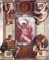 The First Day of Creation By Michelangelo