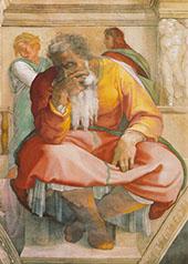 The Prophet Jeremiah 1511 By Michelangelo