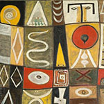 Oil Painting Reproductions of adolph-gottlieb