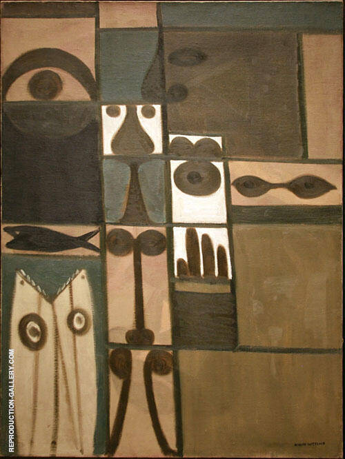 Abstract Saturday By Adolph Gottlieb