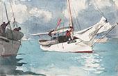Fishing Boats Key West By Winslow Homer