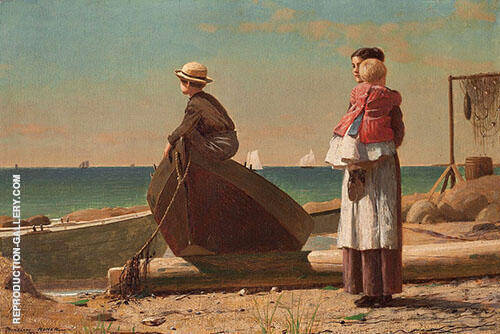 Dad's Coming 1873 By Winslow Homer