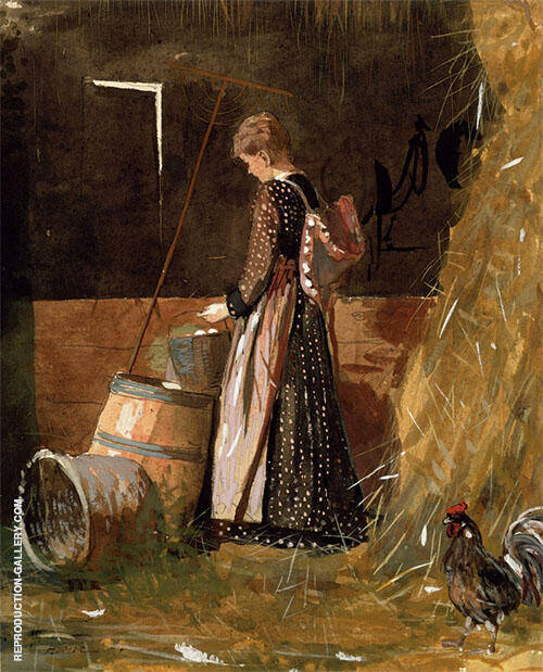 Fresh Eggs 1874 By Winslow Homer