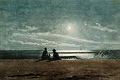 Moonlight 1874 By Winslow Homer