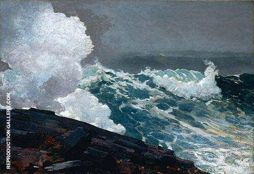 Northeaster 1895 By Winslow Homer