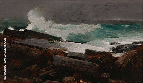 Prouts Neck By Winslow Homer