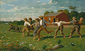 Snap The Whip 1872 By Winslow Homer