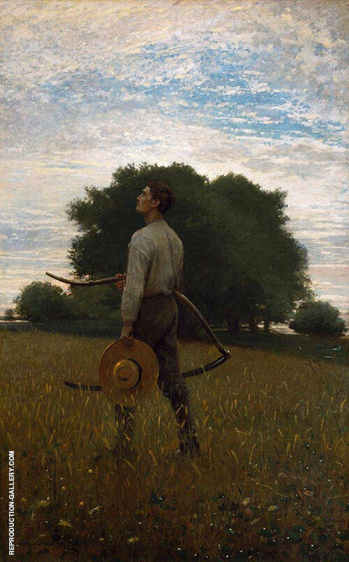 Song of The Lark 1876 By Winslow Homer