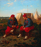 The Brierwood Pipe By Winslow Homer