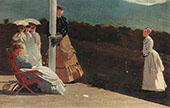 The Croquet Match 1869 By Winslow Homer