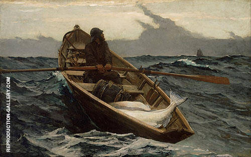 The Fog Warning 1885 By Winslow Homer