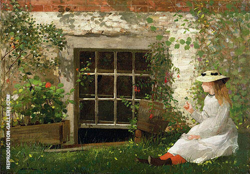 The Four Leaf Clover 1873 By Winslow Homer