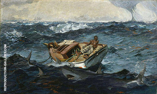 The Gulf Stream 1899 By Winslow Homer