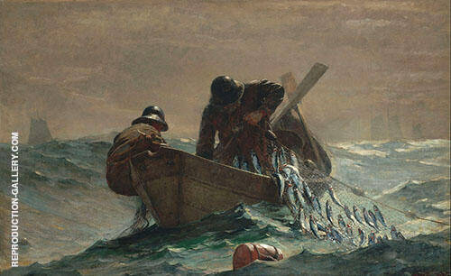 The Herring Net 1885 By Winslow Homer