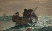 The Herring Net 1885 By Winslow Homer