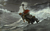 The Life Line 1884 By Winslow Homer