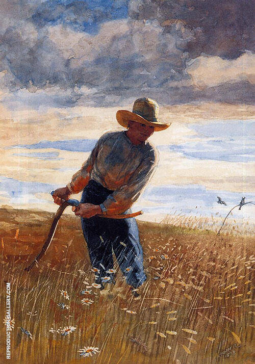 The Reaper 1878 By Winslow Homer