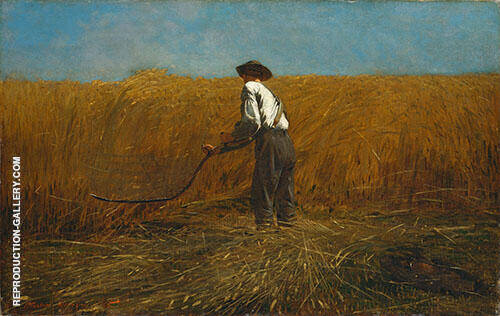 The Veteran in a New Field 1865 By Winslow Homer